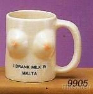 Earthenware Breast Mug - 9905