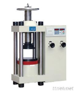 Digital Display Compression Testing Machine