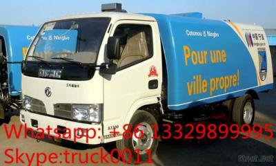 Dongfeng Small Road Sweeper Truck For Sale