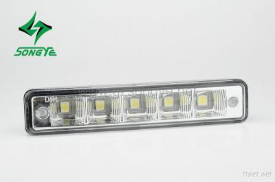 High power white Songye  Clear Lens 5-led daytime running lamp/auto led DRL/led DRL Light