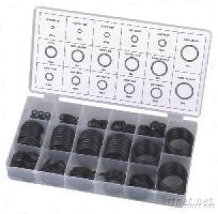 W-8084 O-RING ASSORTMENT 17 SIZES 222PCS NBR 70 AS568