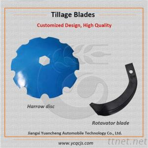 Concave Power Harrow Disc Blade, Small Tractor Rotavator Blade Factory