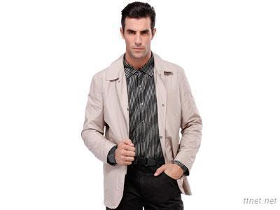 Anilutum Brand New Style Fashion Long Sleeved Camel Colour Men'S Jacket