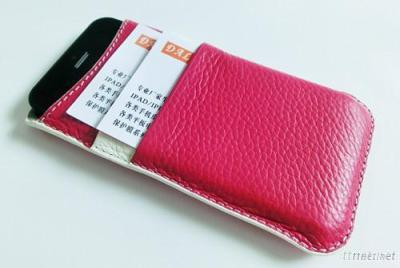 For Iphone 5 PU Leather Cover With Card Slot
