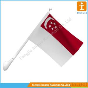 Custom Colorful Hand Flag With High Precision