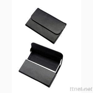 Black Leather Namecard Case