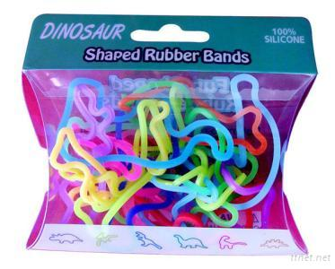 Shaped Silicone Rubber Bands