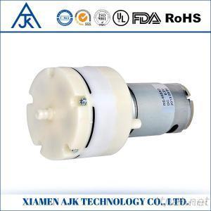 High Pressure Battery Powered 12V 24V Mini Vacuum Pump 20LPM Mini Vacuum Diaphragm Pump