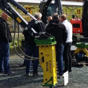 Hydraulic Hammer Match For Mini Excavator