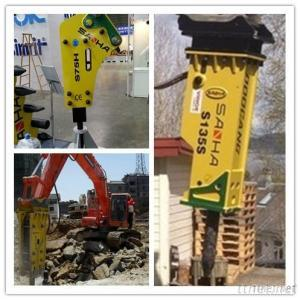 Excavator Attachment Hydraulic Rock Hammer For Sale