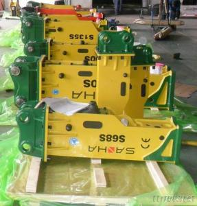 Demolition Equipment Hydraulic Hammer S45S For Mini Excavator