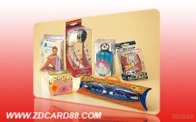 plastic transparence packaging boxes for sale