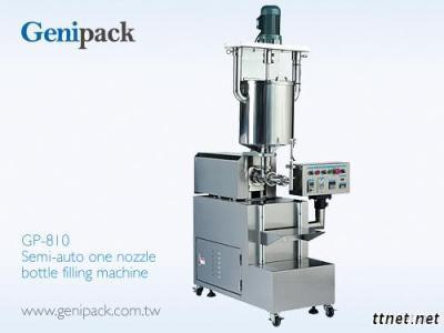 One Nozzle Bottle Filling Machine Semi-Auto