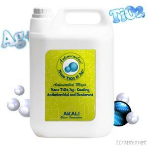 Antimicrobial and Deodorant Nano Coating - TiO2/Ag+