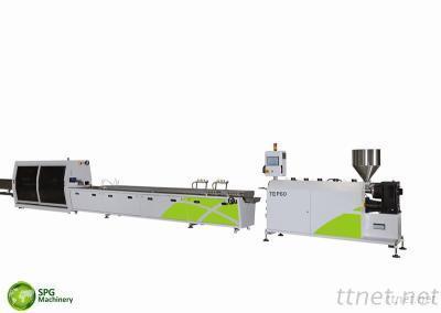 PVC Pipe Profile Extrusion Line, Single-Screw Extrusion Line