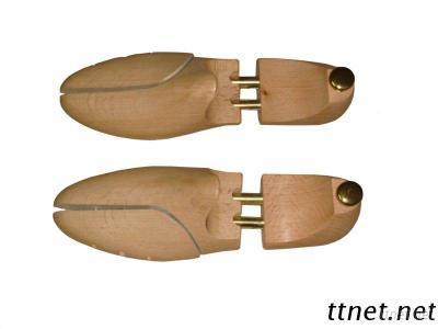 (LM-003B) Adjustable Beechwood Rack Shoe Room