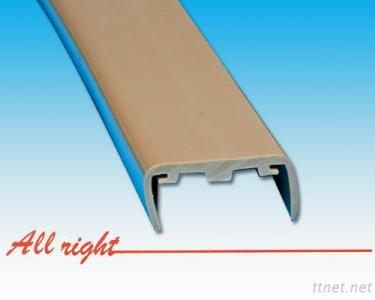 Special-shaped extrusion crash guard