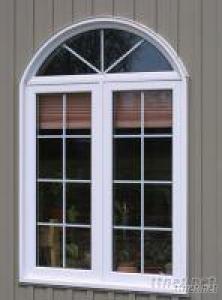 PVC/UPVC Plastic Window Frame With Waterproof