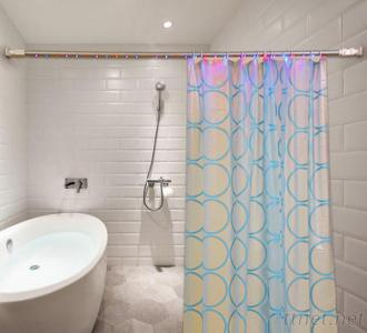 LED Lighted Shower Rod