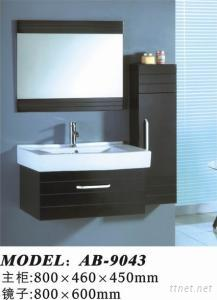 Small Wooden Classic Bathroom Cabinet Furniture