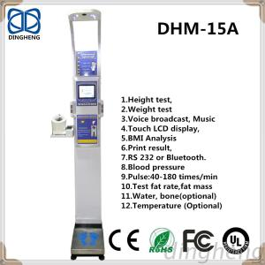 DHM-15A Electrical And Electronics Measuring Instruments Body Water/Muscle Mass/Bone Mass Height And Weight Scales