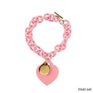 Silicone Bracelet, Rubber Charm Bracelet, Alloy Bangle