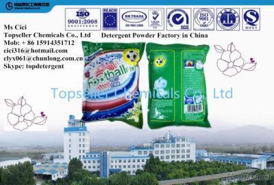 UAE Mega Magic Cartoon Packing Laundry Detergent Powder Washing Powder Factory
