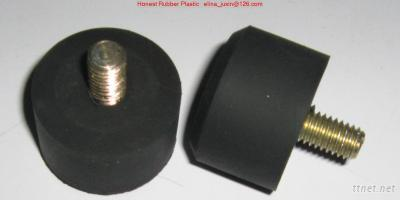 Rubber With Metal Screw