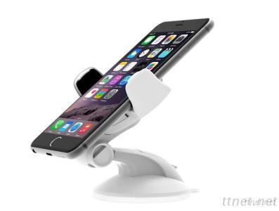 New Easy High Quality Stent Flex Car Mount Holder for Universal SmartPhone(White