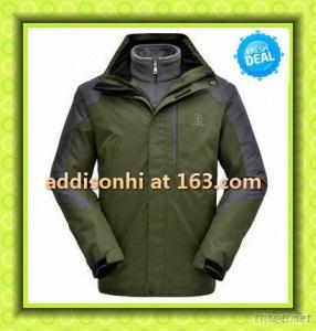 Men's Brand Winter Jacket With Hoody