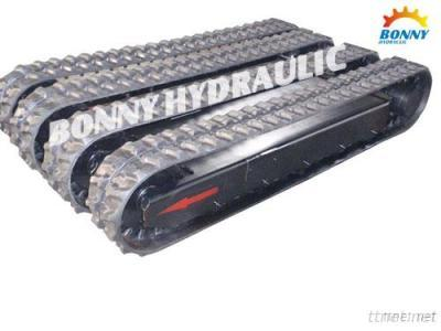Rubber Crusher Track Undercarriage