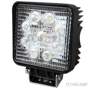 9-32V 27W LED Work Light 12/24V