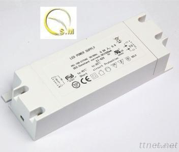 60W LED Driver With 89% Efficiency, 0.95 PF And TUV