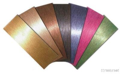Coloured Stainless Steel Sheets