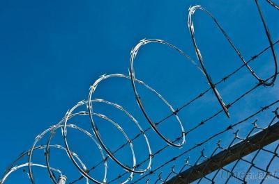 Single Ring Razor Barbed Wire