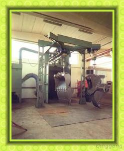 Anchor Chain Surface Shot Blasting Machine