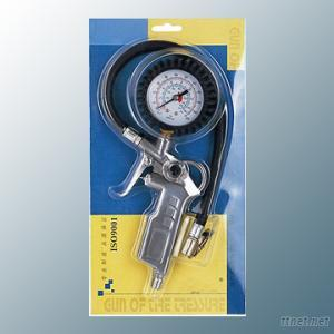 Tire Inflating Gun With Air Pressure Guage Air Tire Inflation Gun Tire Inflator