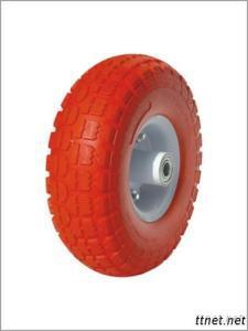 10 Inches Flat Free Hand Trolley Wheel