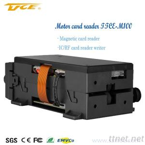 (TTCE-M100) Dusty Proof Motorized Card Reader For ATM And Payment Kiosk