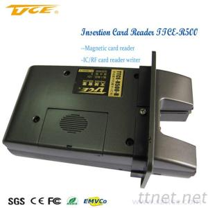 (TTCE-R500) Earth-Friendly Unique Design Manual Insert Card Reader For Pos And Kiosk