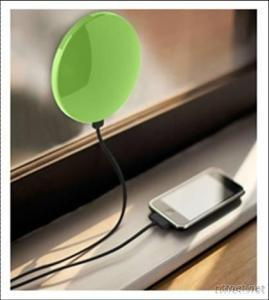 Built-In Battery 1800Mah And 5000Mah Portable Solar Mobile Phone Charger, Solar Cell Phone Charger