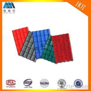 PVC/APVC/UPVC/ASA Superior Colorful Roofing Tile