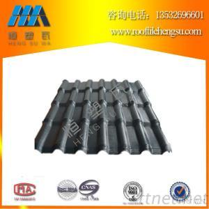 Chinese Building Supplies Corrugated Plastic Roofing Sheet, PVC/ASA/UPVC/APVC Roof Tile