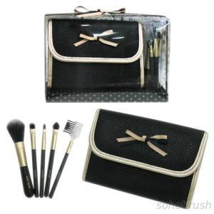 7620BS/PS 5-pc make up brush w/ bag set