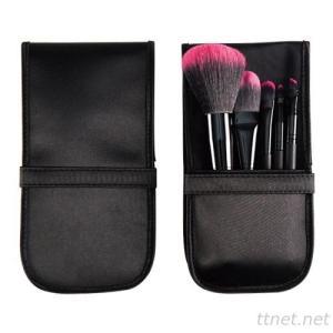 PF0163  5-pc make up brush set w/ pouch