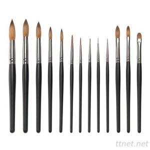S8029GM  13-pc nail painted brush set