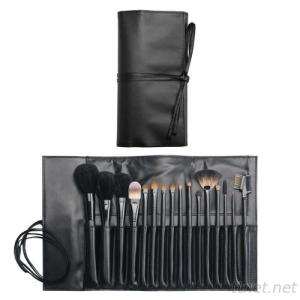 PF0183  16-pc make up brush set w/ bag