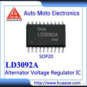 LD3092A Auto Alternator Voltage Regulator ICS MC33092A MC33092 IC