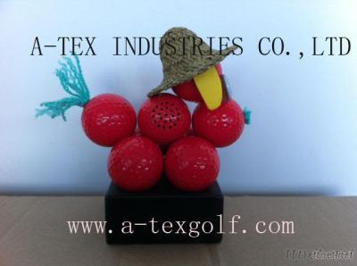 Golf Gift- Ball Dog With Bluetooth Mini-Speaker