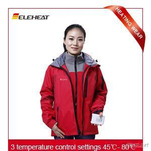 Eleheat Heated Clothing Jacket Can Be Outdoor Clothing (EH-J-015)
